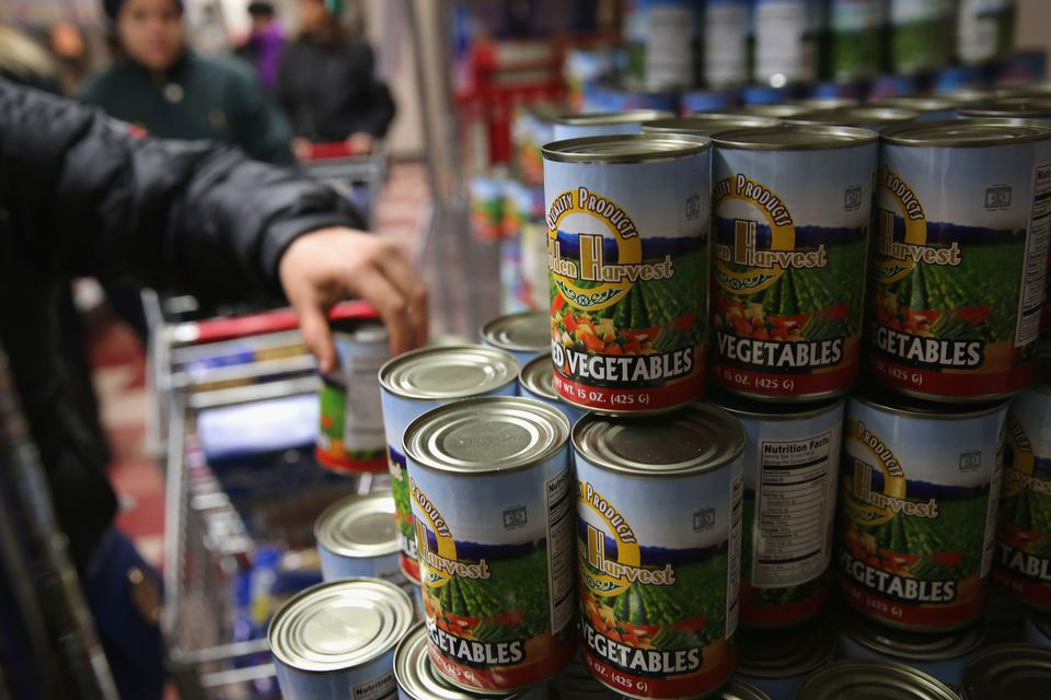 Food Bank For NYC Provides Food Pantry And Soup Kitchen To Harlem Families