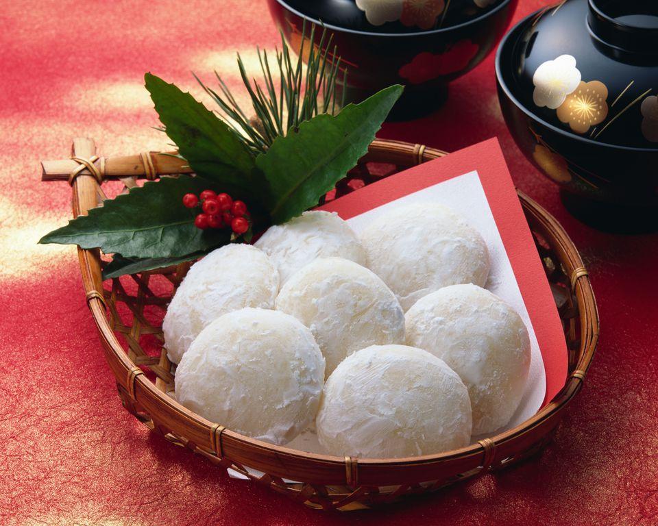 Mochi, Japanese Rice Cake