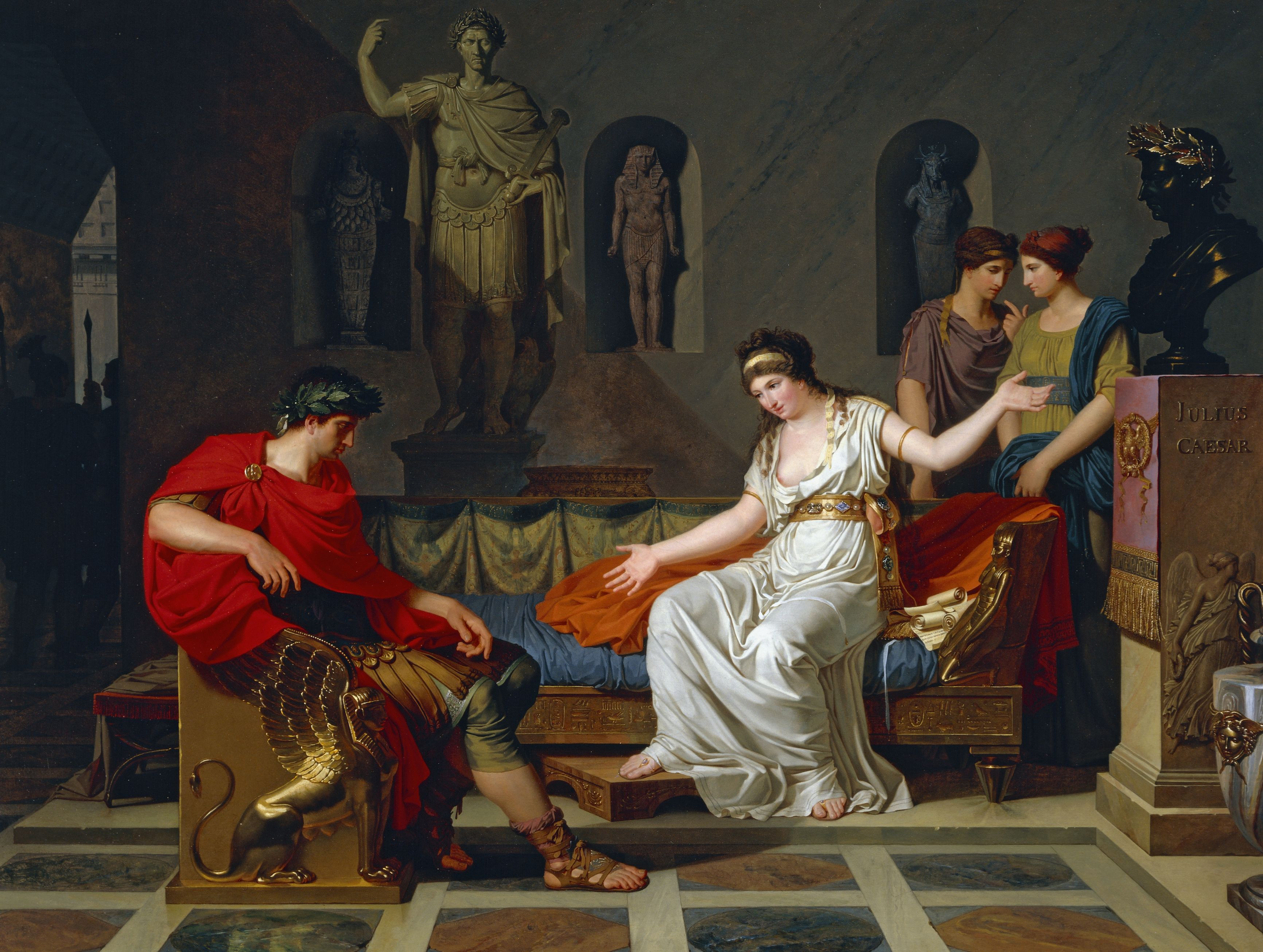 battle of actium antony and cleopatra vs us meeting between cleopatra and octavian after battle of actium 1787 1788 by louis gauffier