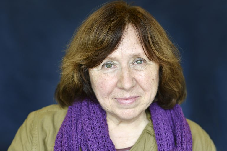 Svetlana Alexievich.