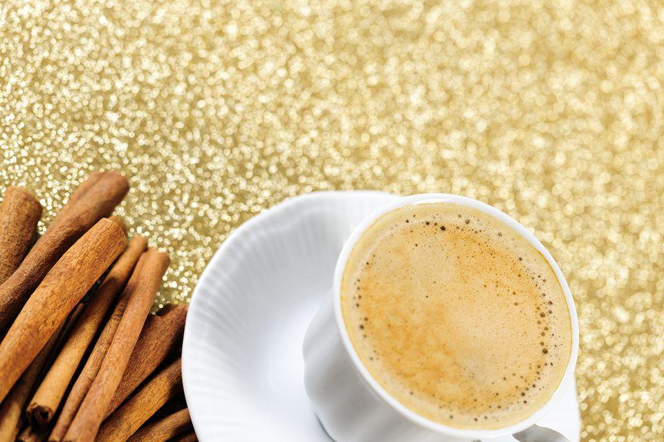 Autumn Chai Swizzle Cocktail