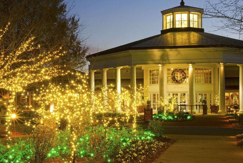 Where to find christmas light displays in charlotte - Daniel stowe botanical garden christmas ...