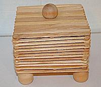Craft Stick Box Craft