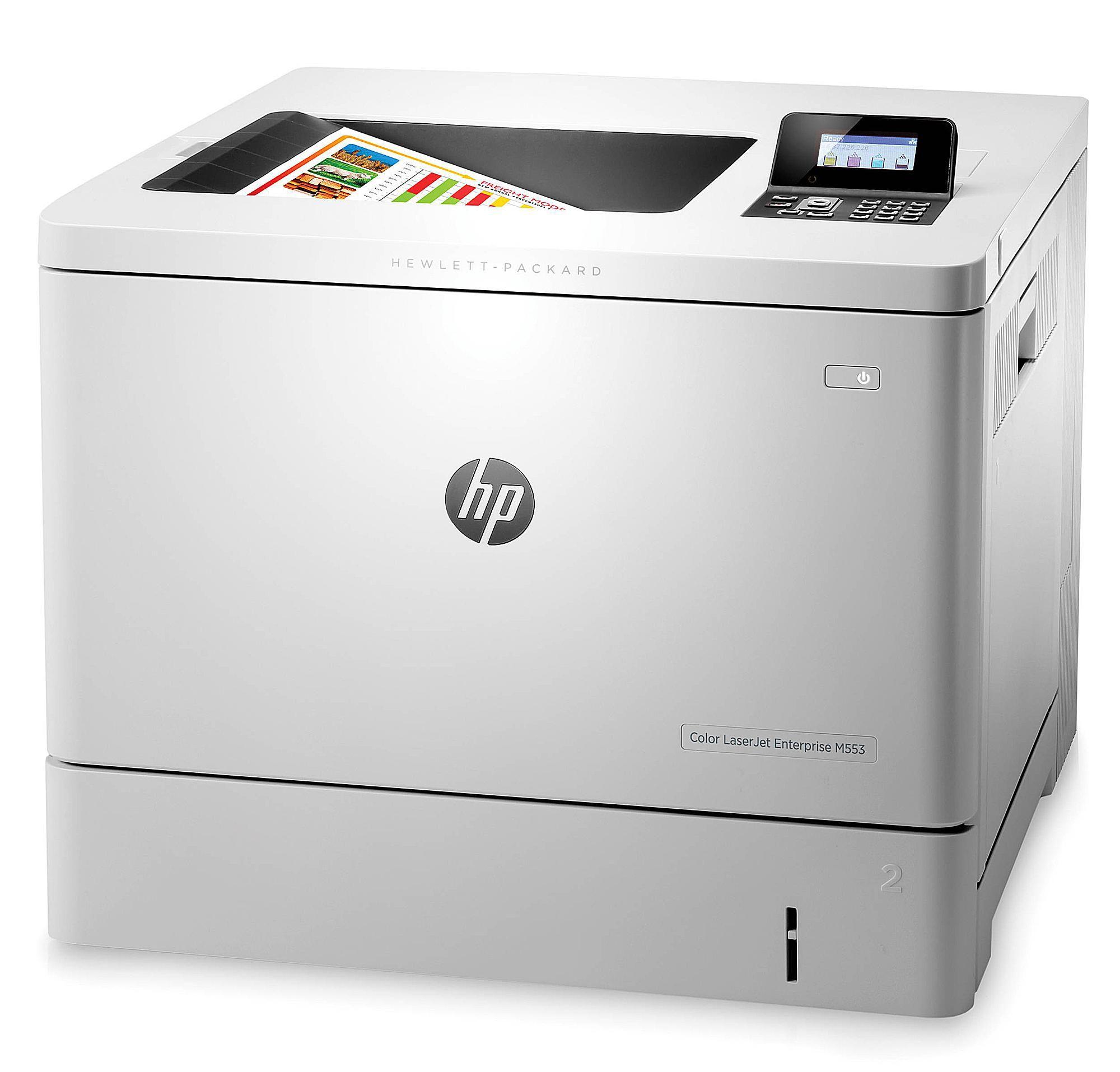petitive monochrome CPP with HP s Color LaserJet Enterprise M553dn