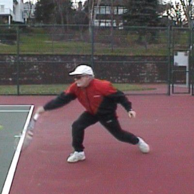 One-Handed Backhand Sidespin Slice