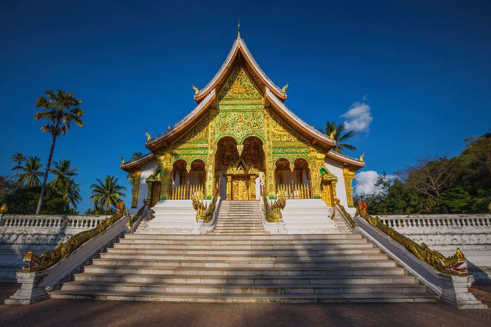 Landmark of Luang Prabang city in Laos (The Royal Palace Museum)