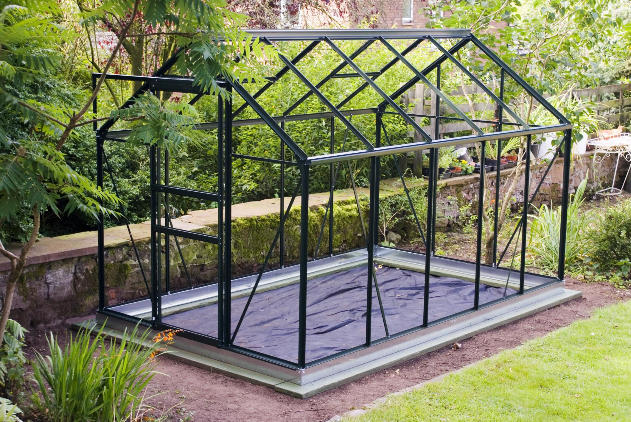4 options for framing material for a greenhouse for Materials to make a greenhouse