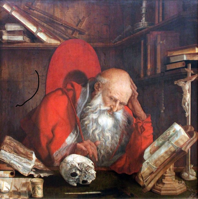 St. Jerome in his cell
