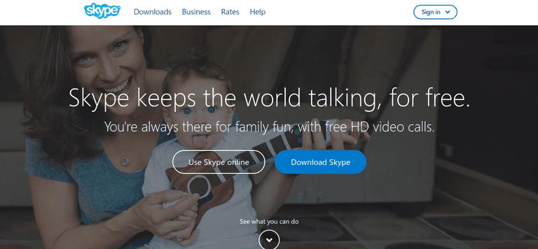 Skype Website