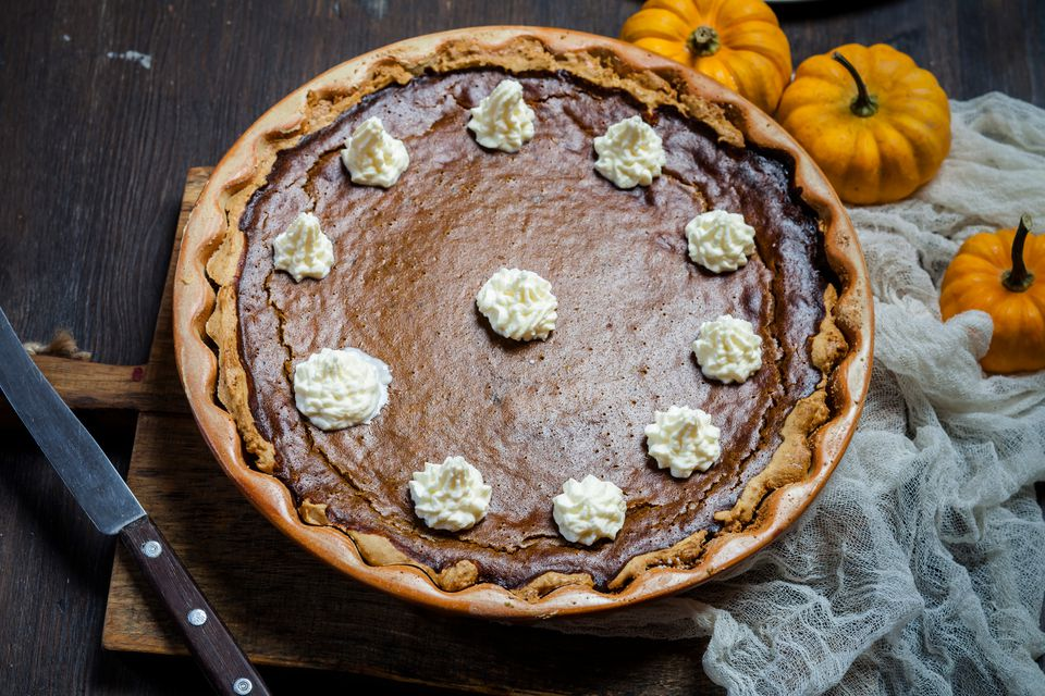 thanksgiving pumpkin pie