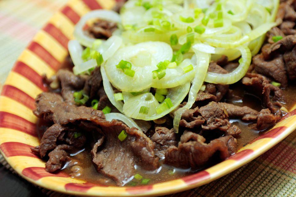 Bistek: Filipino Beef Steak