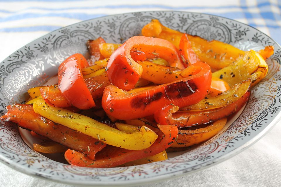 Pan Roasted Peppers