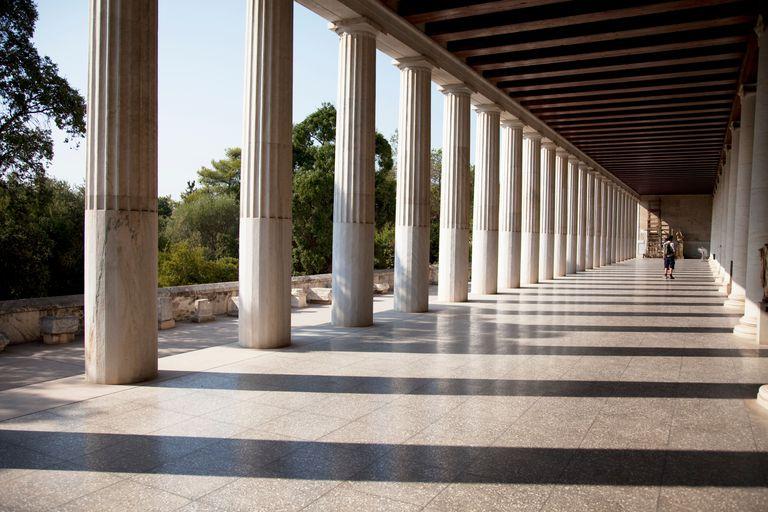 The Stoa of Attalos or Attalus
