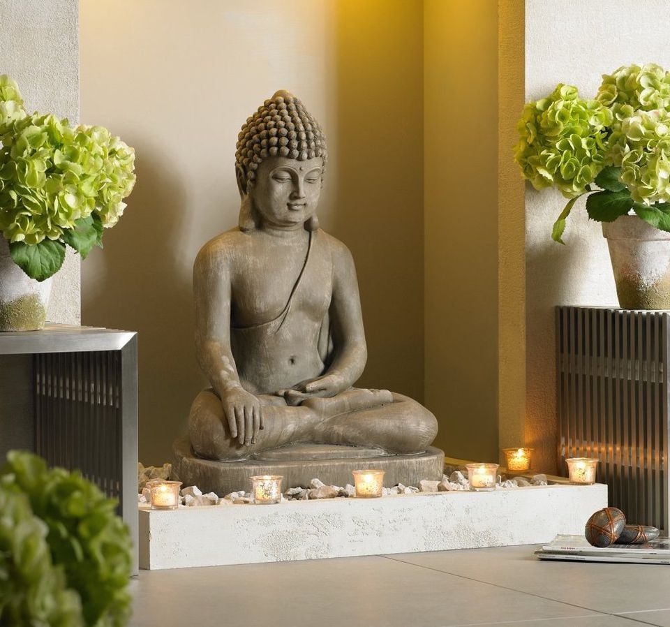 Buddhist Garden Design Decoration feng shui home: the many faces of buddha