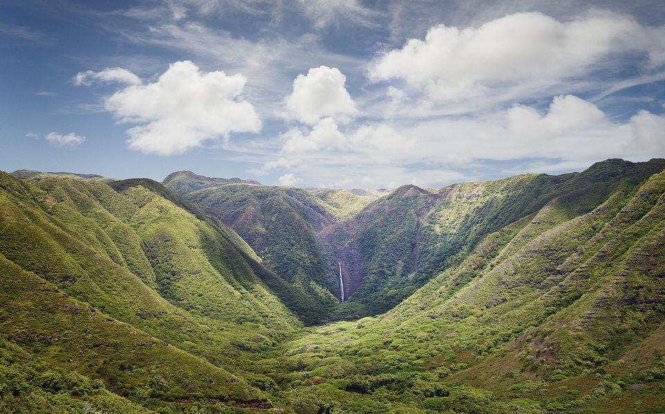 Halawa Valley and Waterfall