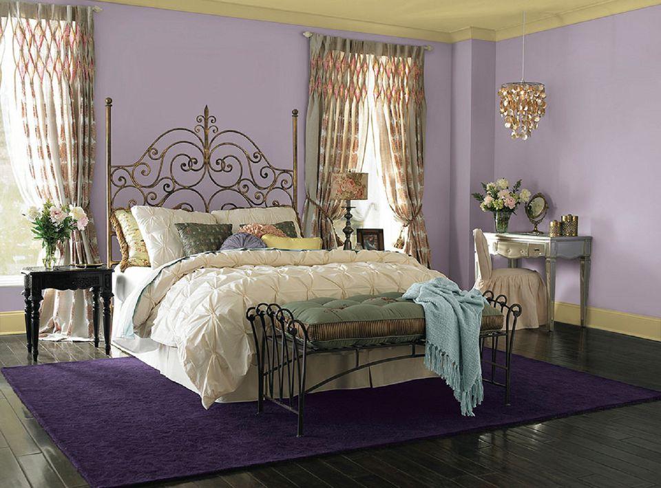 prairie purple from dutch boy - Bedroom Colors In Purple