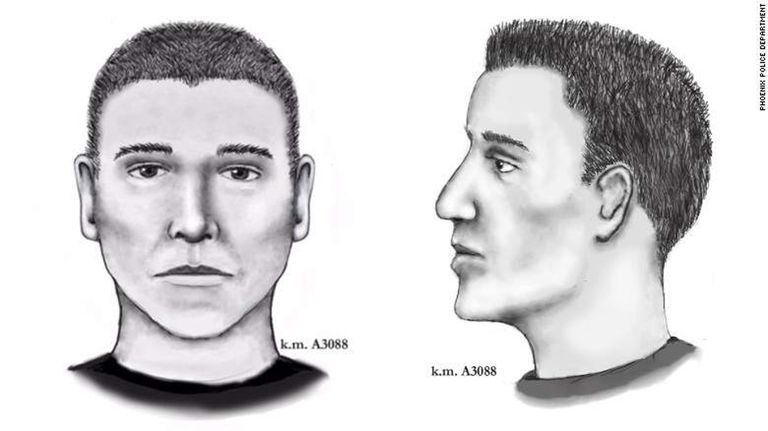Composite Sketch of the Phoenix Serial Killer