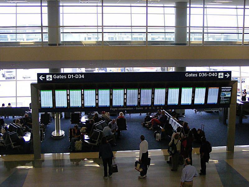 Terminal D, DFW Airport