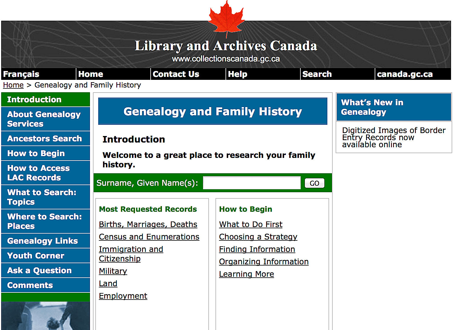 10 online databases for finding your canadian ancestors aiddatafo Images