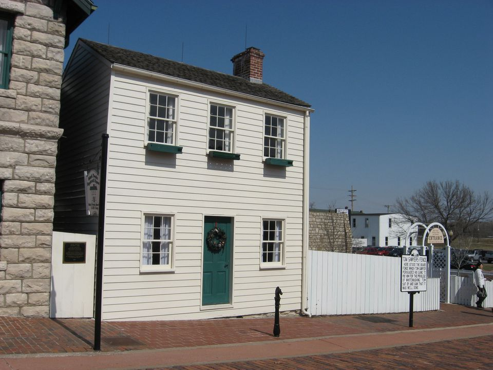 Mark Twain Boyhood Home in Hannibal, Missouri
