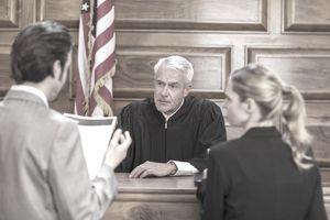Plaintiff in a Lawsuit