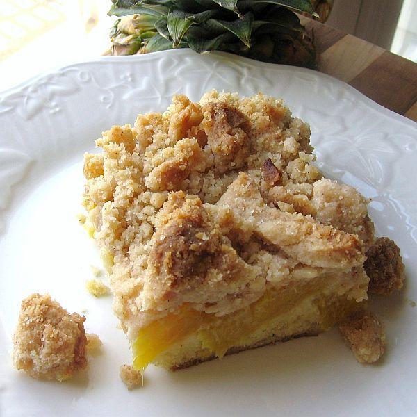 Pineapple Crumb Cake