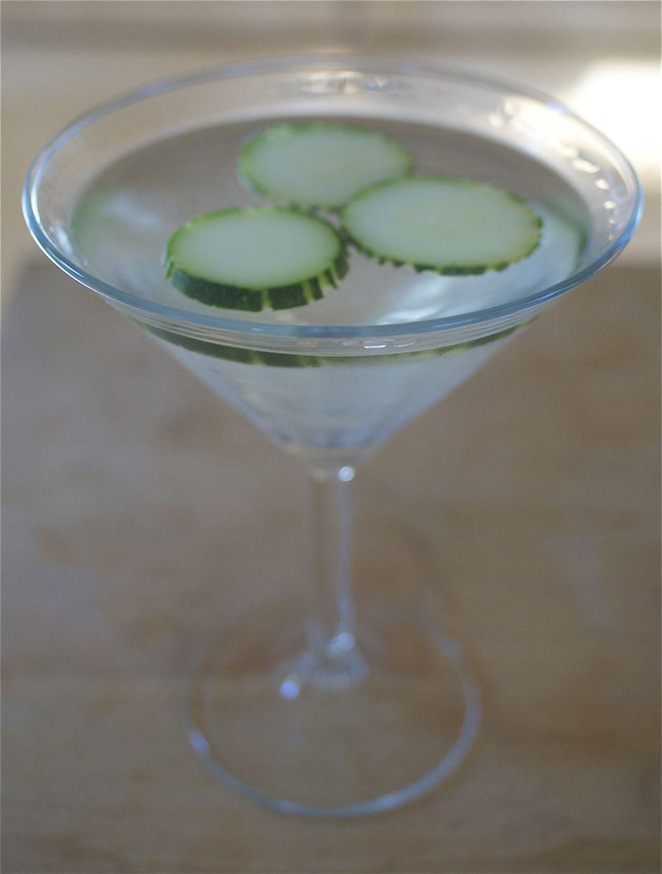 Cucumber-Infused Martini