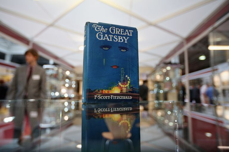 First edition of F. Scott Fitzgerald's 'The Great Gatsby' at London International Antiquarian Book Fair