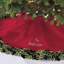 budget ideas for a christmas tree skirt - Christmas Tree Skirt Ideas