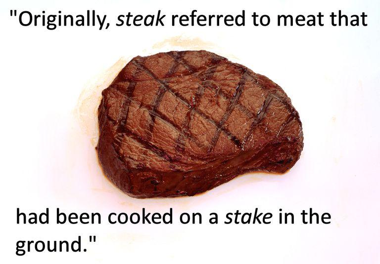 stake and steak