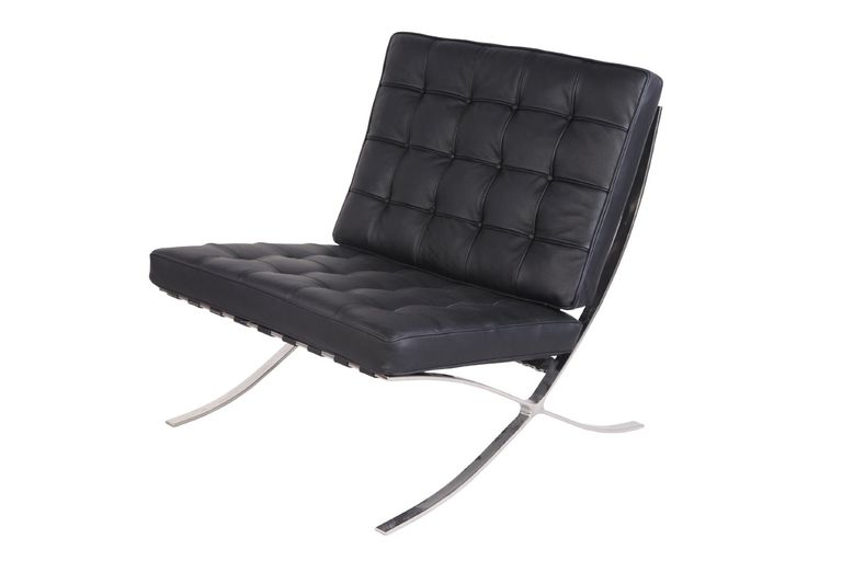 Barcelona Style chair inspired by Ludwig Mies van der Rohe