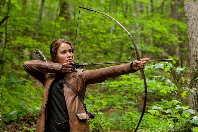 Katniss Everdeen, protagonista de 'Los juegos del hambre', película que pasaría el Test Bechdel.