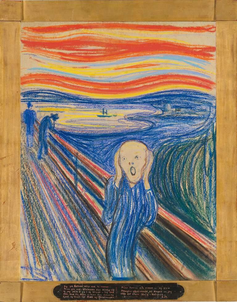 Edvard Munch - The Scream, 1895