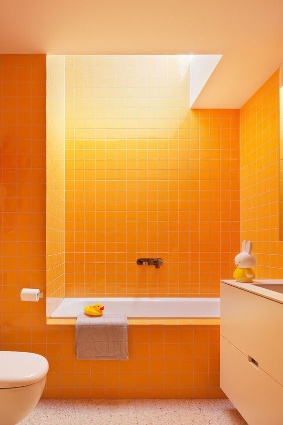 orange bathroom ideas 15 orange bathroom ideas 9386