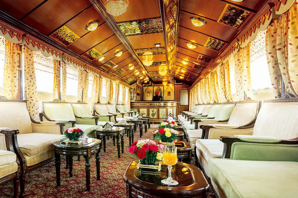 Palace on Wheels luxury train.