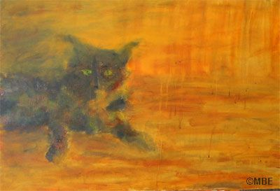 Painting Cats Step by Step Demo