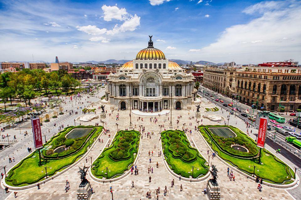 Palacio de Bellas Artes - Mexico City, Mexico