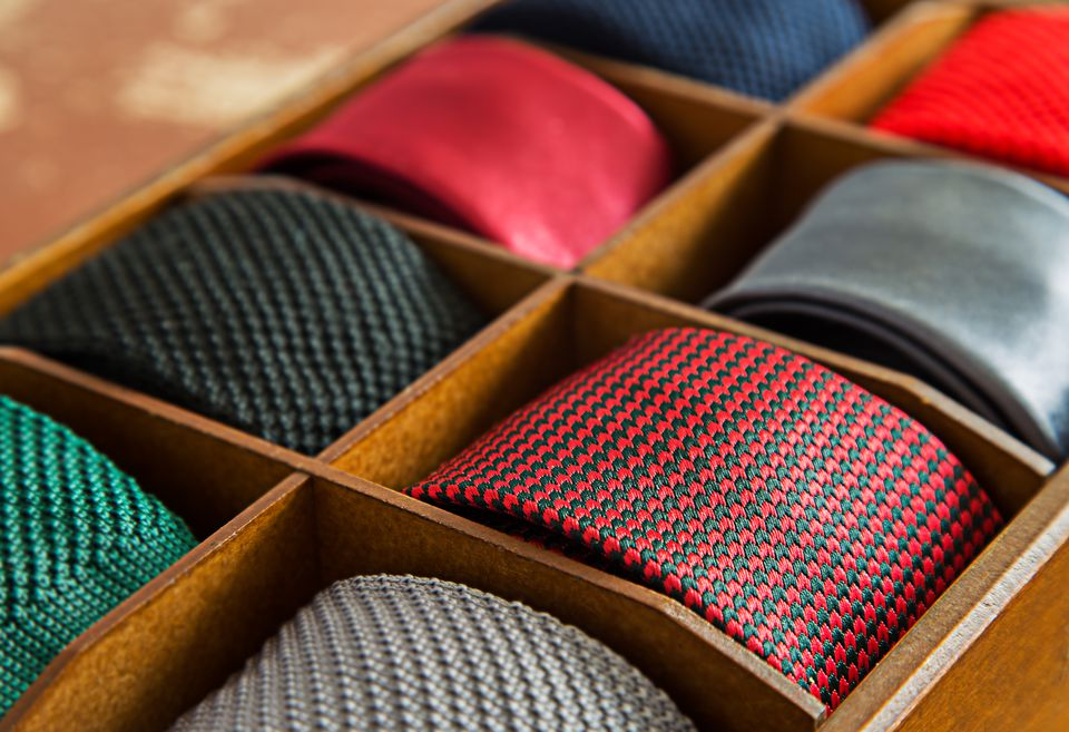 how to clean iron and store neckties. Black Bedroom Furniture Sets. Home Design Ideas
