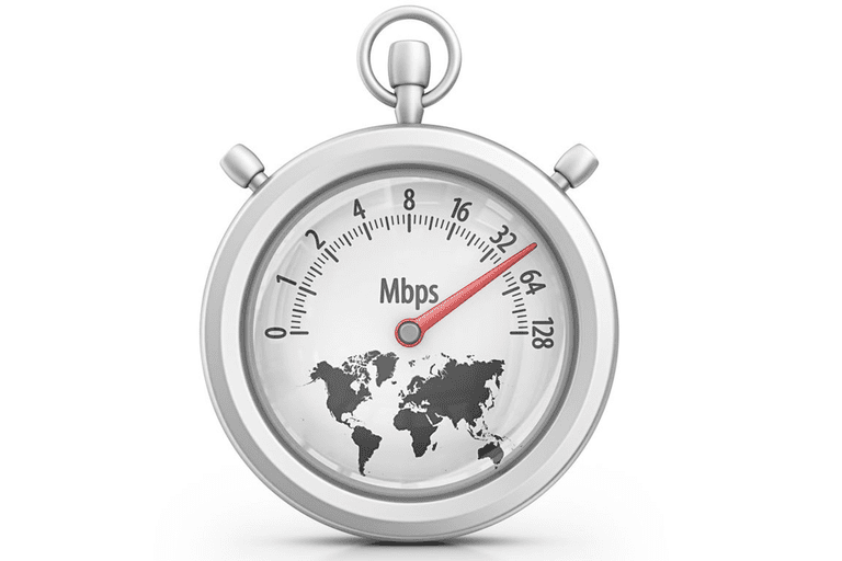 An illustration of an Internet stopwatch