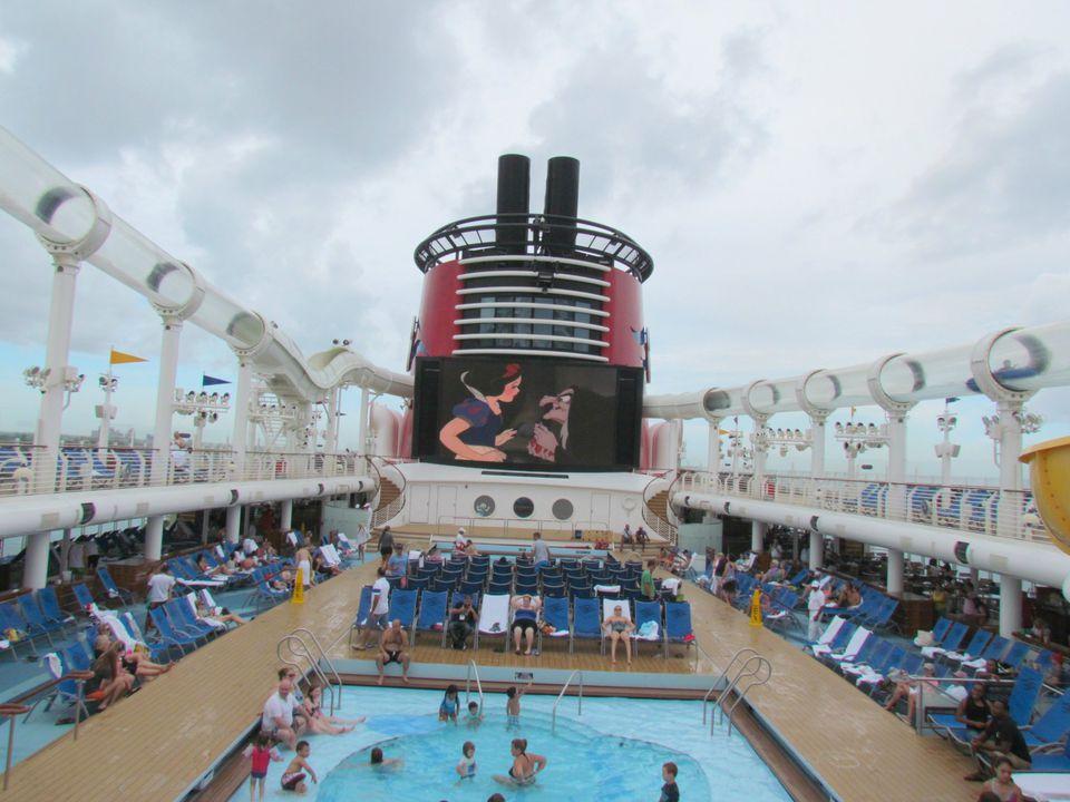 PHOTOS AquaDuck Water Coaster On Disney Cruise Ships - Best cruise ship water slides