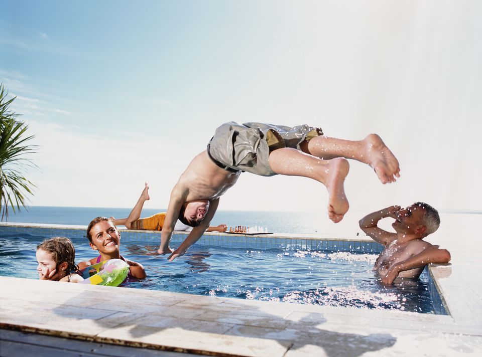 Diving safety rules safe diving tips for swimming pools - Swimming pool diving board regulations ...