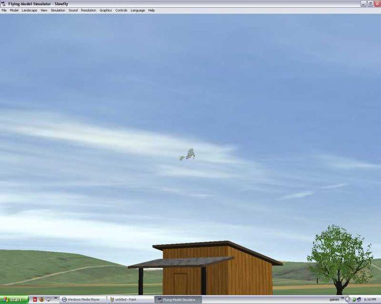 FMS - Flying-Model-Simulator Flight Simulation Software - Screenshot
