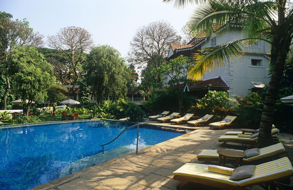 Taj West End swimming pool.