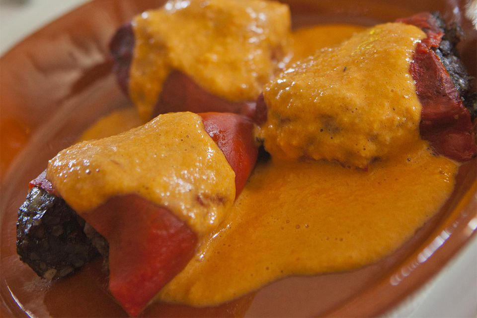 Bell Pepper Coulis Sauce