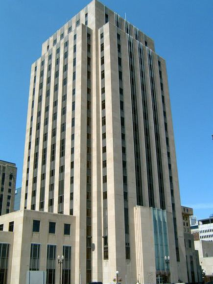 St Paul City Hall and Ramsey County Courthouse in Downtown St Paul