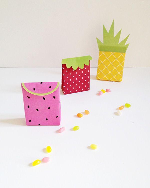 DIY Pineapple Party Bag