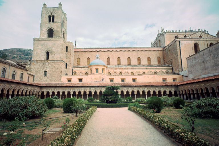 Monreale cathedral in Sicily, built by William II