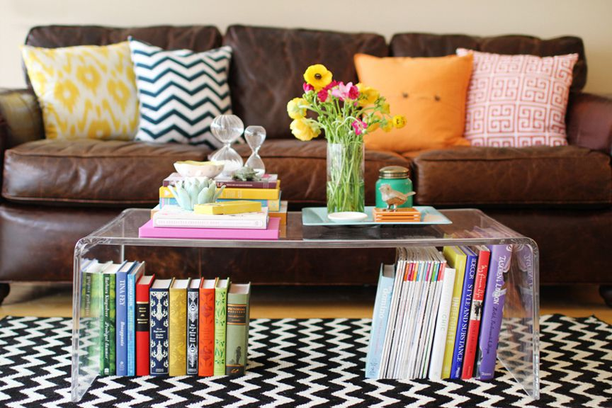Diy Coffee Table Easy Small Spaces