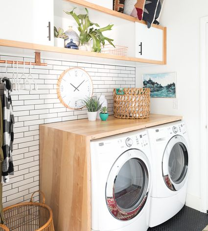 What to store in the laundry room 20 clever diy laundry room ideas solutioingenieria Image collections