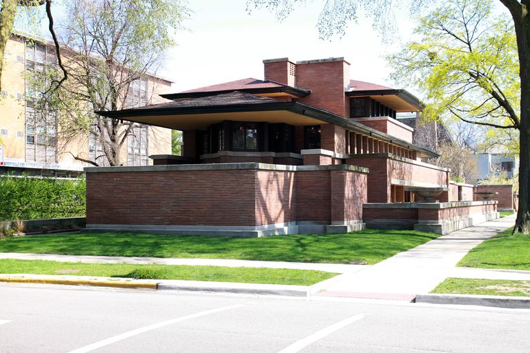 The Frederick C. Robie House Designed by Frank Lloyd Wright, 1910